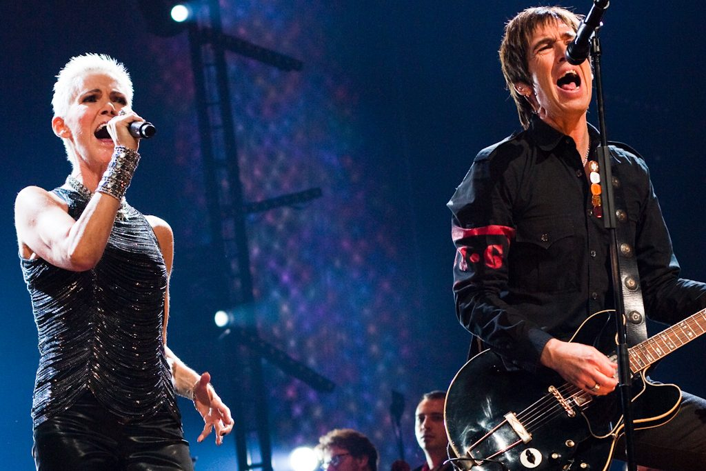 Photo Credit: Colinvdbel -Roxette live on stage during 'Night of the Proms' at the 'Gelredome' in Arnhem, the Netherlands. For more information, please refer to www.stonechamberphoto.com.