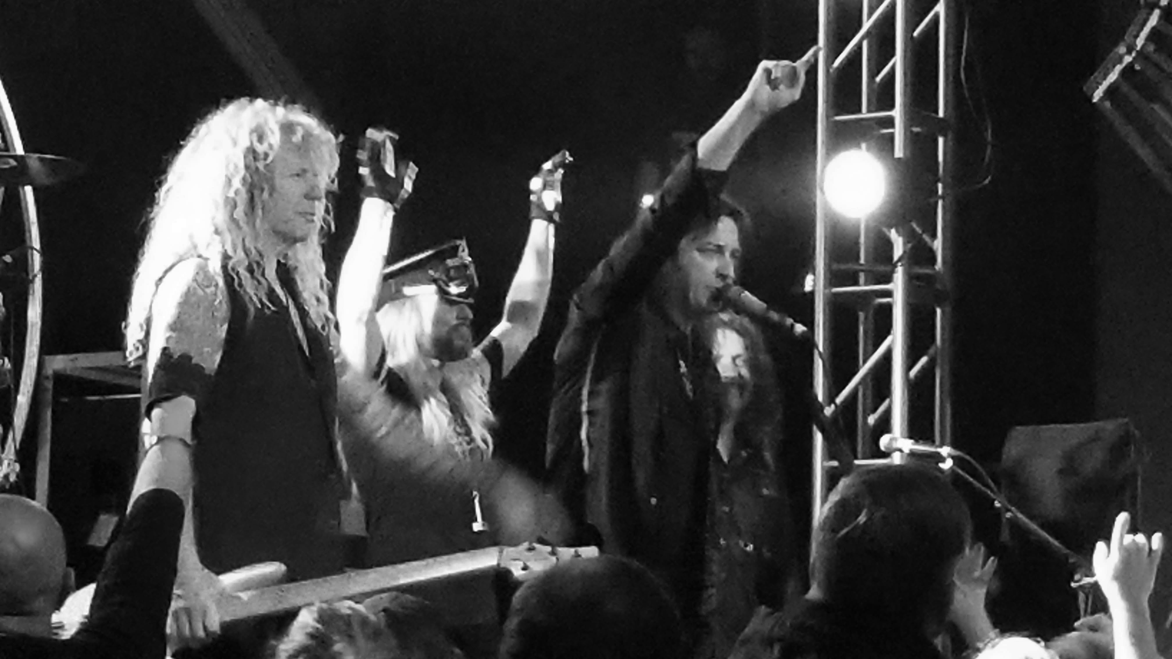 Stryper, moments after playing To Hell with the Devil on Friday, November 9th, 2018 in Portland, Oregon.